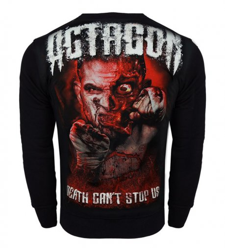 Bluza Octagon Death can\'t stop Us bez kaptura