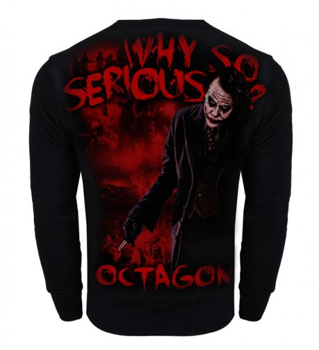 Bluza Octagon Why so serious? bez kaptura