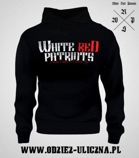 "Bluza WRP ""White Red Patriots"" - z kapturem"
