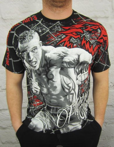 T-shirt MMA Fighter HD