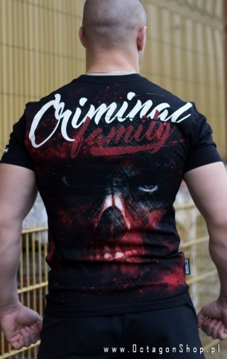 T-shirt Octagon Criminal Family