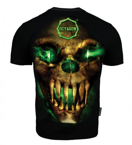 T-shirt Octagon Green Demon