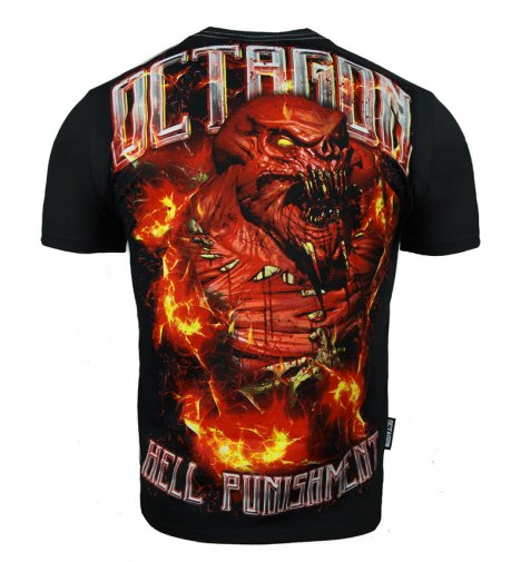 T-shirt Octagon Hell Punishment