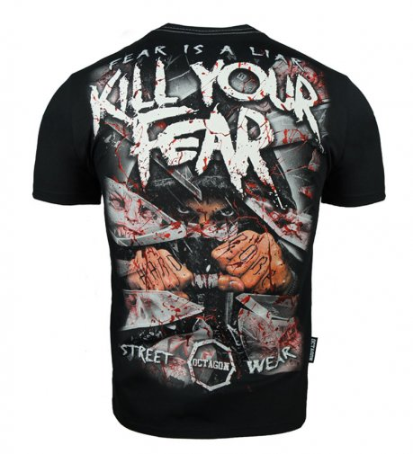 T-shirt Octagon Kill Your Fear
