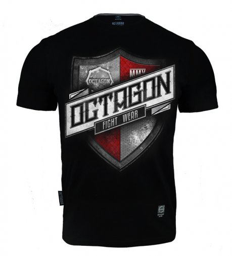 T-shirt Octagon Shield