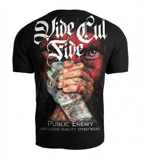T-shirt Public Enemy Vide Cul Fide