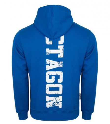 Bluza Octagon Fight Wear OCTAGON niebieska z kapturem
