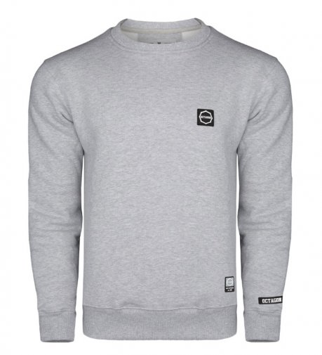 Bluza Octagon Small Logo grey bez kaptura
