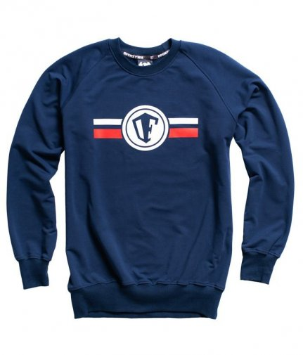 Bluza OFENSYWA Stripes Logo dark navy