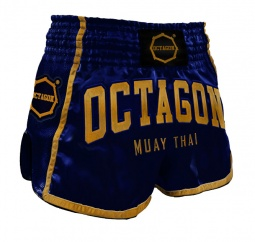 Spodenki Muay Thai Octagon Dark navy/Gold
