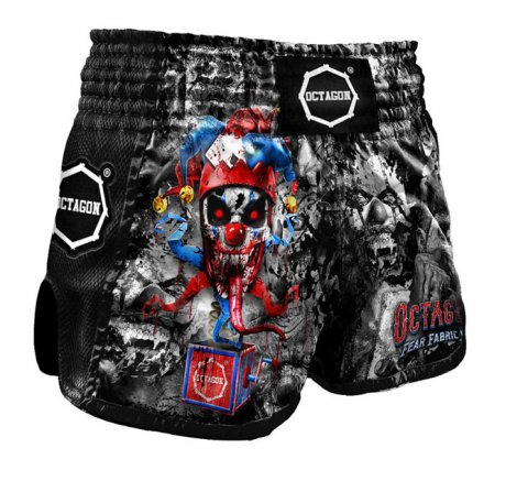 Spodenki Muay Thai Octagon Fear Fabric