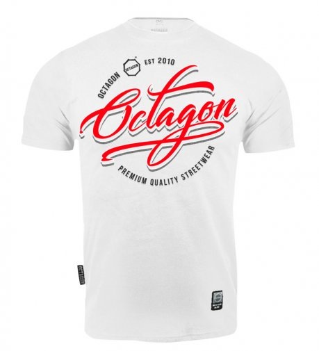 T-shirt Octagon Elite white