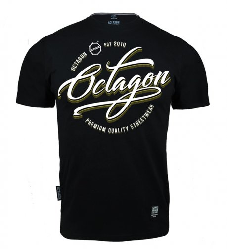 T-shirt Octagon Elite black