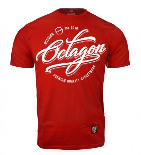 T-shirt Octagon Elite red