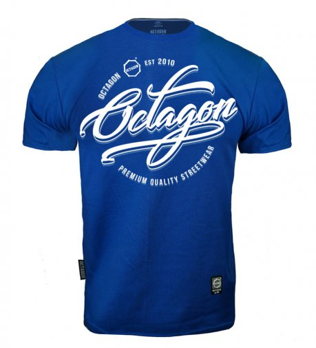 T-shirt Octagon Elite blue