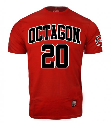 T-shirt Octagon Oldschool 2010