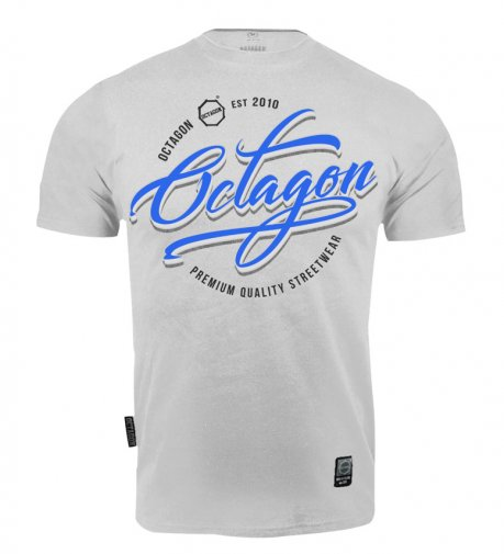 T-shirt Octagon Elite grey melange