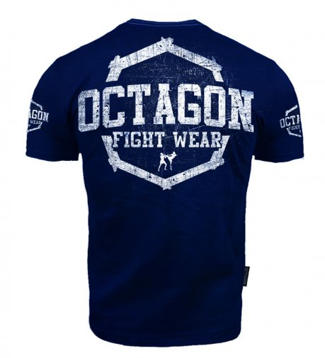 T-shirt Octagon Fight Wear II dark navy
