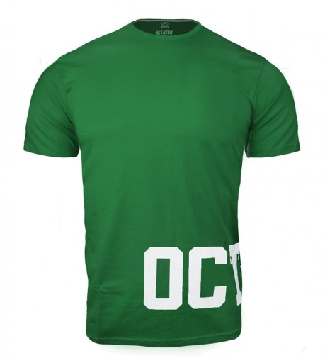 T-shirt Octagon Dream green