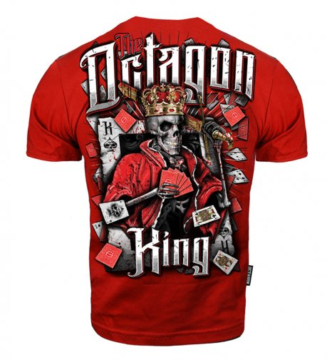 T-shirt Octagon King Red