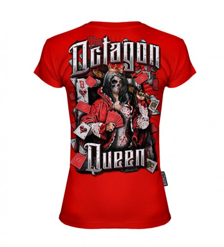T-shirt Octagon Queen Red