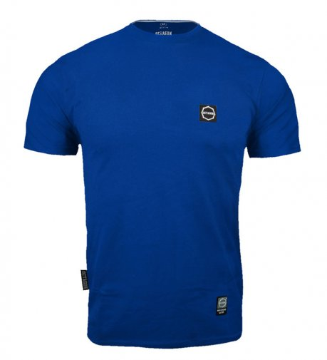 T-shirt Octagon Small Logo blue