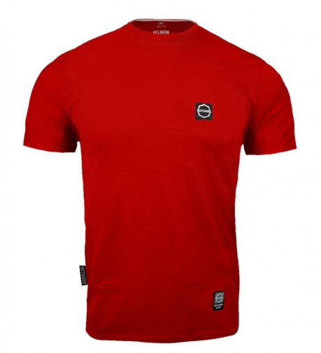 T-shirt Octagon Small Logo red