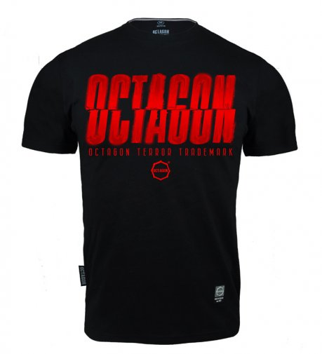T-shirt Octagon (T)Error black