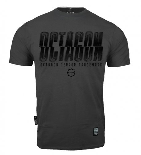 T-shirt Octagon (T)Error graphite