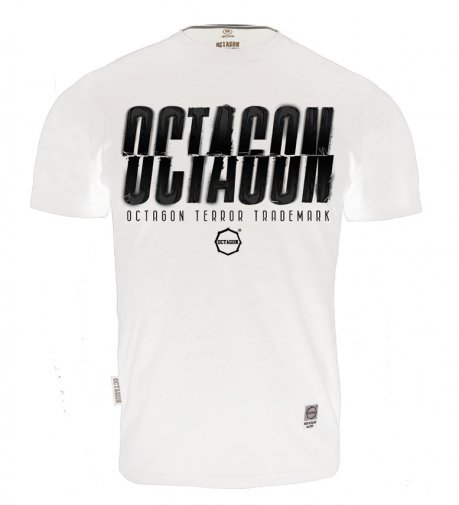 T-shirt Octagon (T)Error white