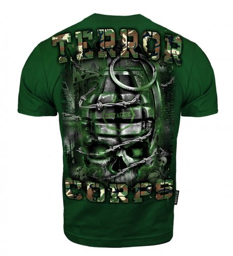 T-shirt Octagon Terror Corps bottle green